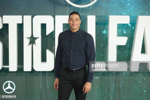 Actor Ray Fisher attends the 'Justice League' photocall at The College on November 4, 2017 in London, England.