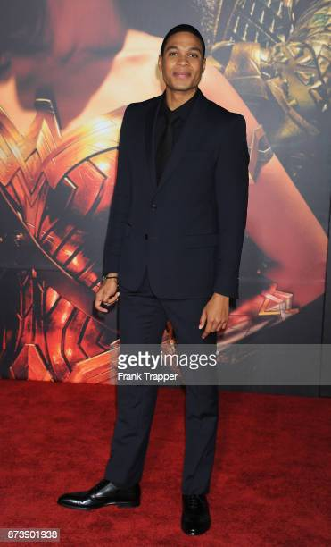 Actor Ray Fisher attends the premiere of Warner Bros Pictures' 'Justice League' held at the Dolby Theatre on November 13 2017 in Hollywood California