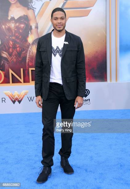 Actor Ray Fisher attends the World Premiere of Warner Bros Pictures' 'Wonder Woman' at the Pantages Theatre on May 25 2017 in Hollywood California