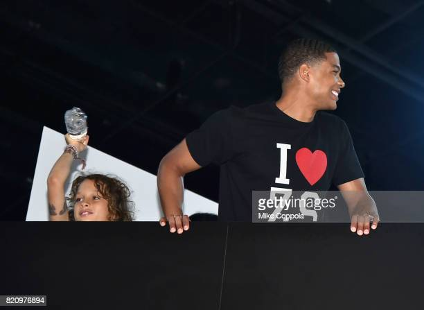 Actor Ray Fisher during the 'Justice League' autograph signing at ComicCon International 2017 at San Diego Convention Center on July 22 2017 in San...