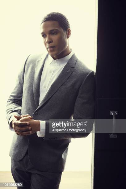 Actor Ray Fisher is photographed for Spec on September 25, 2017 in Los Angeles, California.