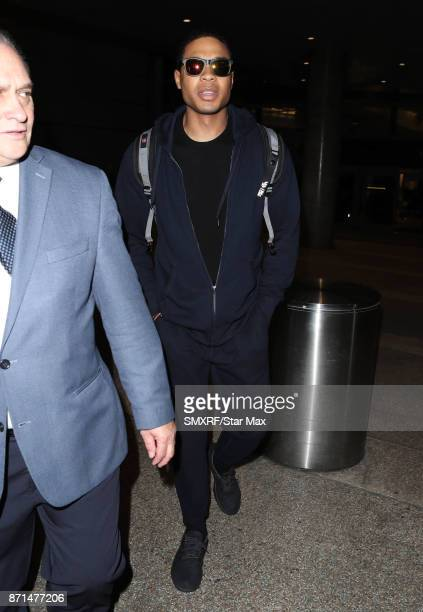 Actor Ray Fisher is seen on November 7 2017 in Los Angeles CA