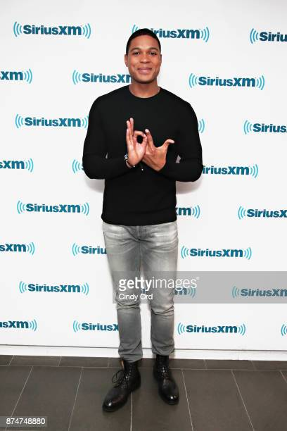 Actor Ray Fisher visits the SiriusXM Studios on November 15 2017 in New York City