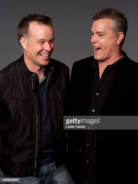 Actor Ray Liotta and director Robert Kirbyson are photographed on April 26 2010 in New York City