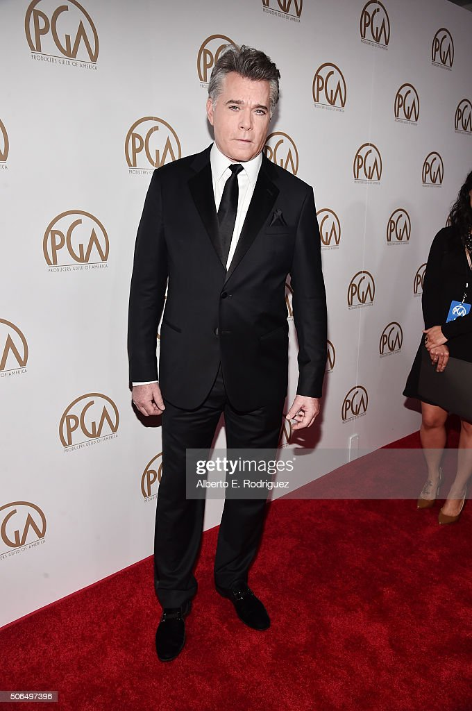 Actor Ray Liotta attends 27th Annual Producers Guild Of America Awards at the Hyatt Regency Century Plaza on January 23, 2016 in Century City, California.