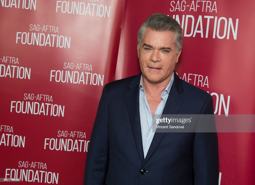 Actor Ray Liotta attends SAG-AFTRA Foundation's Conversations with Ray Liotta at SAG-AFTRA Foundation Screening Room on June 5, 2017 in Los Angeles, California.