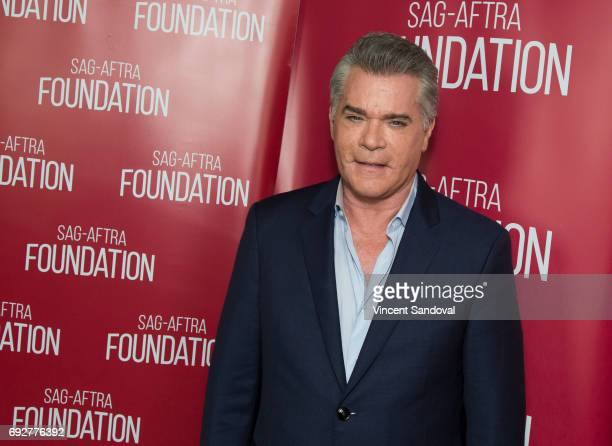 Actor Ray Liotta attends SAGAFTRA Foundation's Conversations with Ray Liotta at SAGAFTRA Foundation Screening Room on June 5 2017 in Los Angeles...