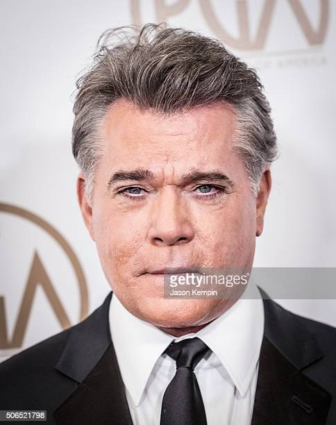 Actor Ray Liotta attends The 27th Annual Producers Guild of America Awards at the Hyatt Regency Century Plaza on January 23 2016 in Century City...