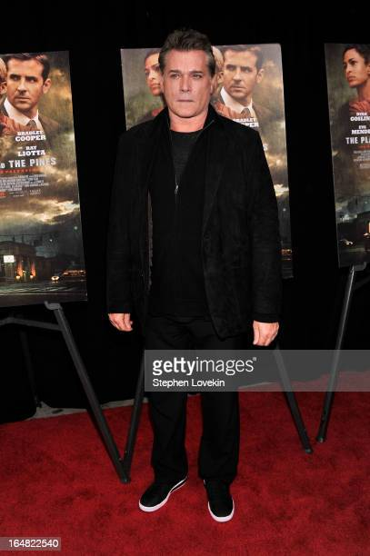 Actor Ray Liotta attends 'The Place Beyond The Pines' New York Premiere at Landmark Sunshine Cinema on March 28 2013 in New York City