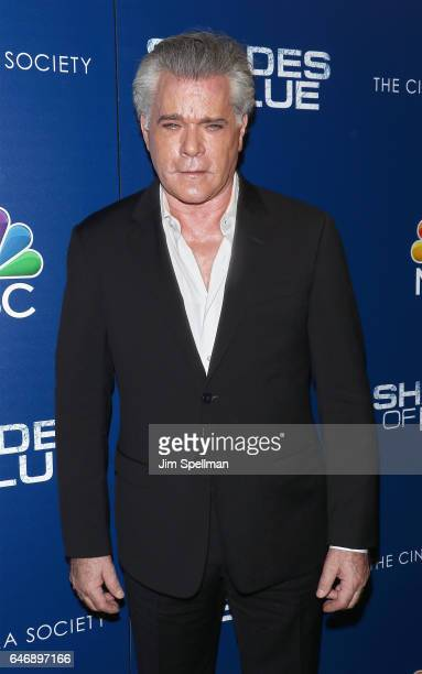 Actor Ray Liotta attends the season 2 premiere of 'Shades Of Blue' hosted by NBC and The Cinema Society at The Roxy on March 1 2017 in New York City