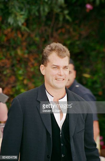 Actor Ray Liotta attends the wedding of Whoopi Goldberg and Lyle Trachtenberg