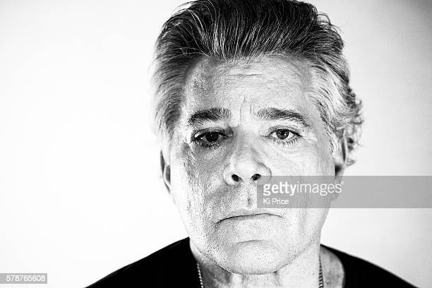 Actor Ray Liotta is photographed for the Times on June 1 2016 in London England