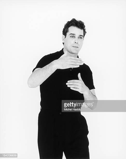 Actor Ray Liotta is photographed on April 12 1993 in Los Angeles California