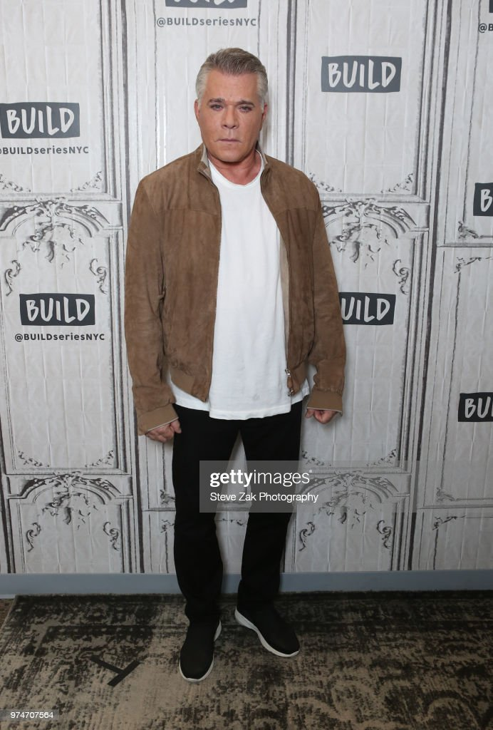 Actor Ray Liotta visits Build Series to discuss 'Shades of Blue' at Build Studio on June 14, 2018 in New York City.