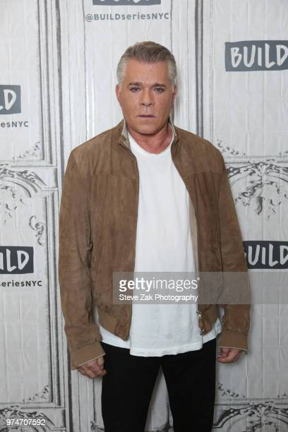Actor Ray Liotta visits Build Series to discuss 'Shades of Blue' at Build Studio on June 14 2018 in New York City