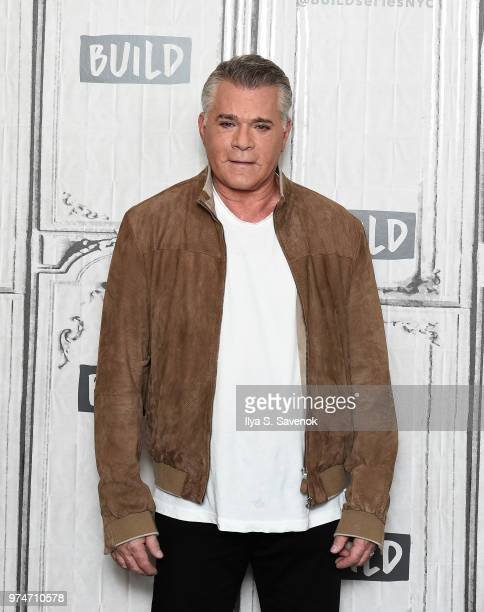 Actor Ray Liotta visits Build Series to promote 'Shades of Blue' at Build Studio on June 14 2018 in New York City
