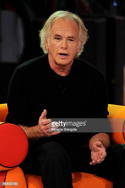 Actor Ray Lovelock during 'Quelli Che Il Calcio' Italian TV Show on January 17 2010 in Milan Italy