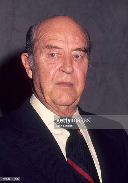 Actor Ray Milland exclusive sighting on January 20 1977 in Washington DC