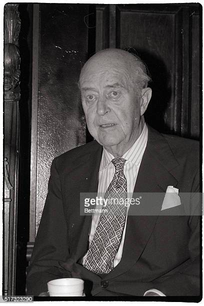 Actor Ray Milland prepares to present the Gold Key a home video mystery which offers a prize to the viewer who solves the puzzle
