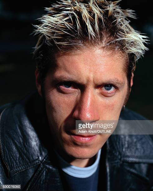 Actor Ray Park with Bleached Hair
