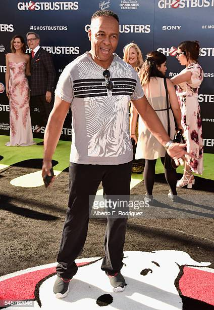 Actor Ray Parker Jr. Arrives at the Premiere of Sony Pictures' 'Ghostbusters' at TCL Chinese Theatre on July 9, 2016 in Hollywood, California.