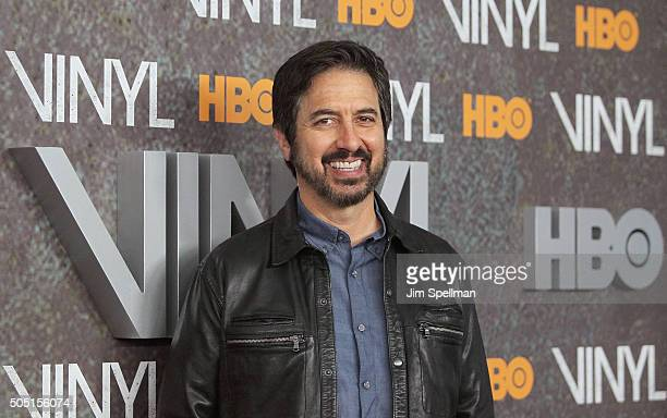 Actor Ray Romano attends the 'Vinyl' New York premiere at Ziegfeld Theatre on January 15 2016 in New York City