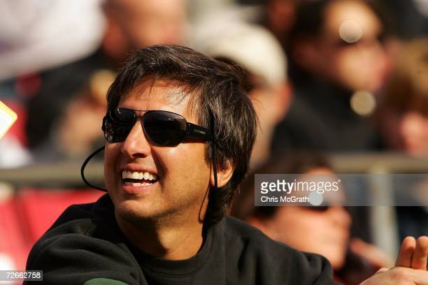 Actor Ray Romano looks on before a game between the Houston Texans and the New York Jets at Giants Stadium on November 26 2006 in East Rutherford New...