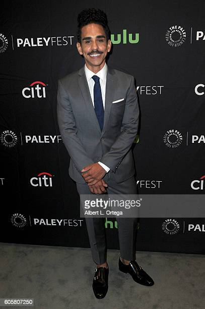 Actor Ray Santiago at the The Paley Center For Media's PaleyFest 2016 Fall TV Preview STARZ's 'Ash Vs Evil Dead' held at The Paley Center for Media...