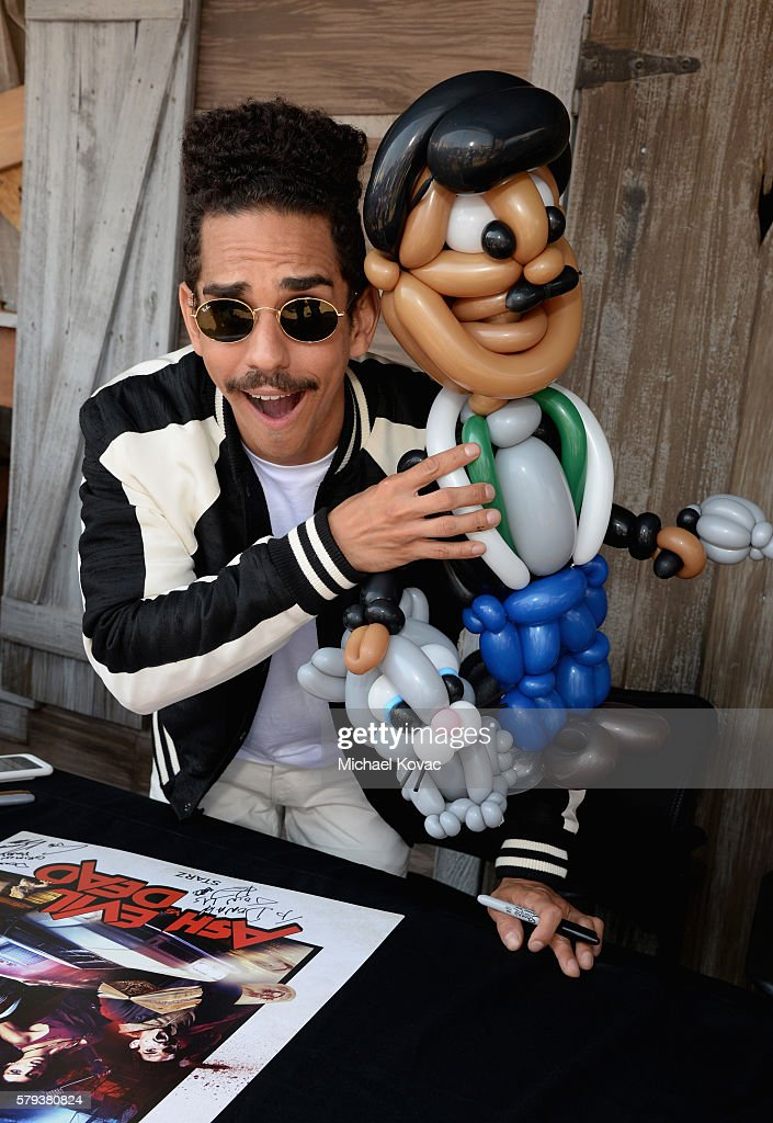 Actor Ray Santiago attends the 'Ash vs Evil Dead' autograph signing during Comic-Con International 2016 at PETCO Park on July 23, 2016 in San Diego, California.