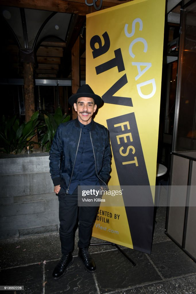 Actor Ray Santiago attends the SCAD aTVfest 2018 x EW Party at Lure on February 2, 2018 in Atlanta, Georgia.
