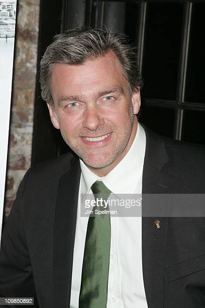Actor Ray Stevenson attends the Kill the Irishman premiere after party at Puck Fair Bar on March 7 2011 in New York City