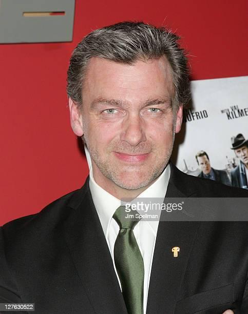 Actor Ray Stevenson attends the premiere of Kill the Irishman at Landmark's Sunshine Cinema on March 7 2011 in New York City