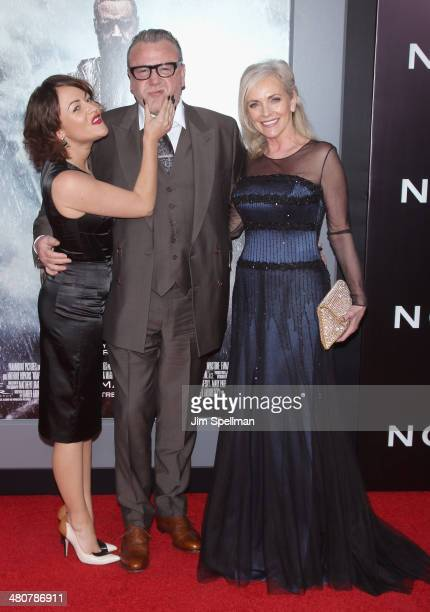 Actor Ray Winstone and guests attend the 'Noah' New York Premiere at Ziegfeld Theatre on March 26 2014 in New York City