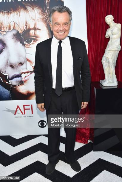 Actor Ray Wise arrives to The American Film Institute Presents 'Twin PeaksThe Entire Mystery' BluRay/DVD Release Screening at the Vista Theatre on...