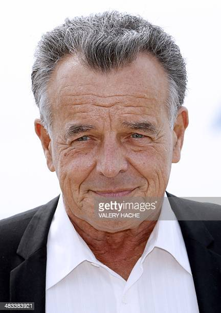 US actor Ray Wise poses during a photocall for the TV series Farmed and dangerous at the MIPTV forum on April 8 in Cannes on the French Riviera AFP...
