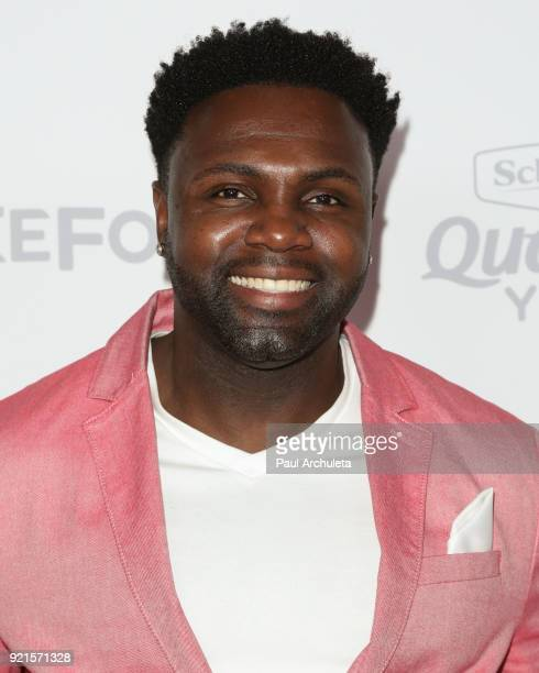 Actor Rayan Lawrence attends OK Magazine's Summer kickoff party at The W Hollywood on May 17 2017 in Hollywood California