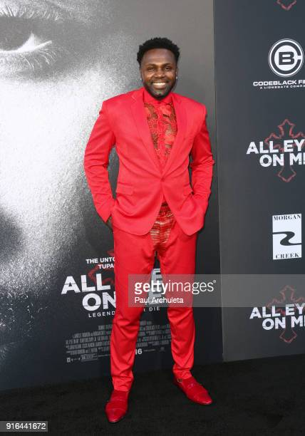 Actor Rayan Lawrence attends the premiere of Lionsgate's 'All Eyez On Me' on June 14 2017 in Los Angeles California