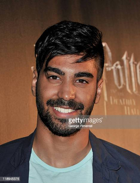 Actor Raymond Ablack attends the AfterParty for the Canadian Premiere of 'Harry Potter and The Deathly Hallow Part 2' at Casa Loma on July 12 2011 in...