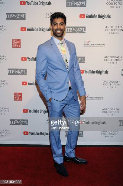 Actor Raymond Ablack attends the YouTube Originals In Partnership With Mongrel Media At Mongrel House on September 11 2018 in Toronto Canada