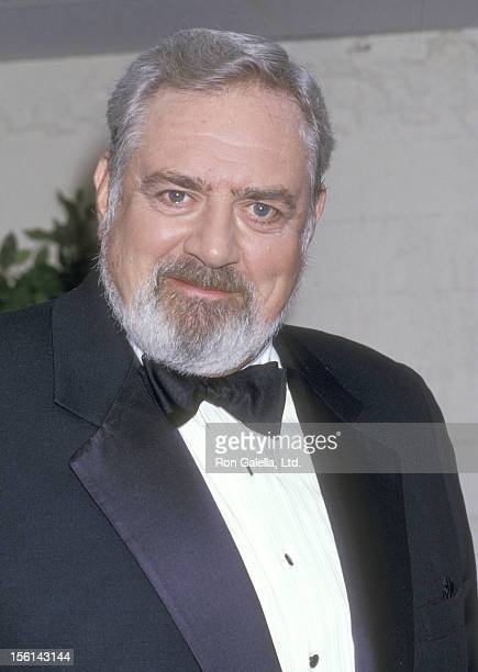 Actor Raymond Burr attends the Eighth Annual National CableACE Awards on January 20 1987 at Wiltern Theatre in Los Angeles California