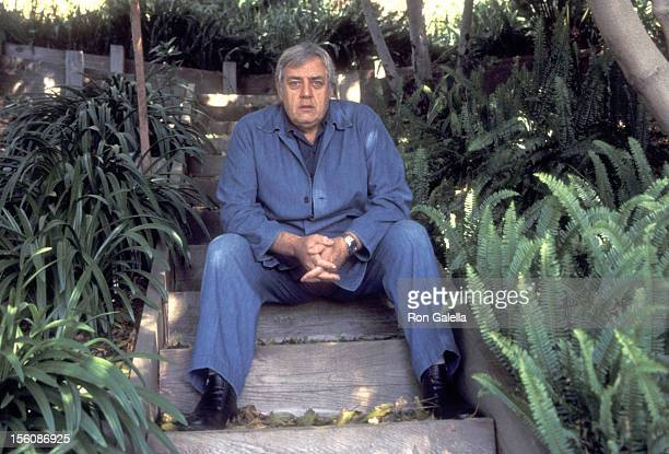 Actor Raymond Burr on March 11 1977 poses for an exclusive photo session at his home in Hollywood California