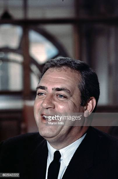 Actor Raymond Burr plays the role of Chief of Detectives Robert T Ironside during the filming of 'Ironside' circa 1975 in Los Angeles California