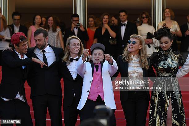 US actor Raymond Coalson Danish producer Lars Knudsen US actor Isaiah Stone US actress Veronica Ezell British director Andrea Arnold and US actress...