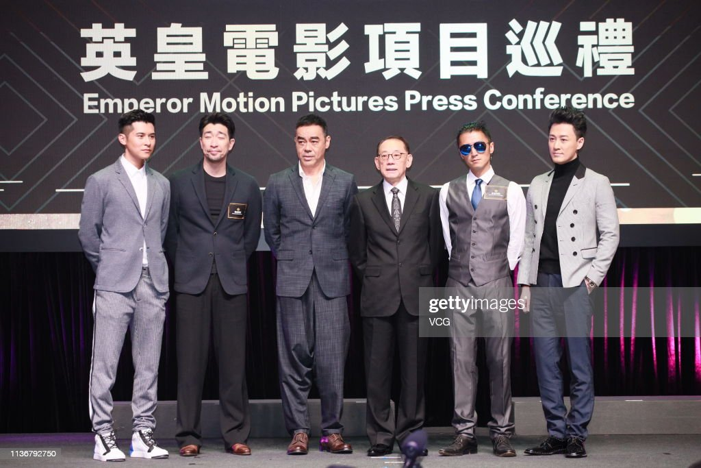 HKG: Emperor Motion Pictures Press Conference In Hong Kong
