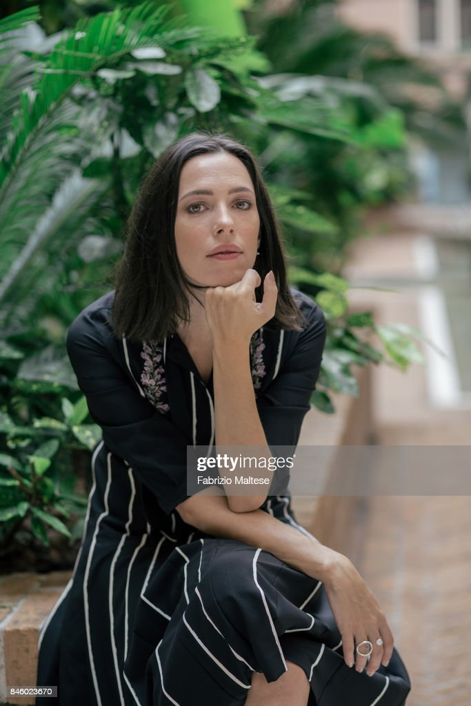 Actor Rebecca Hall is photographed on September 7, 2017 in Venice, Italy.