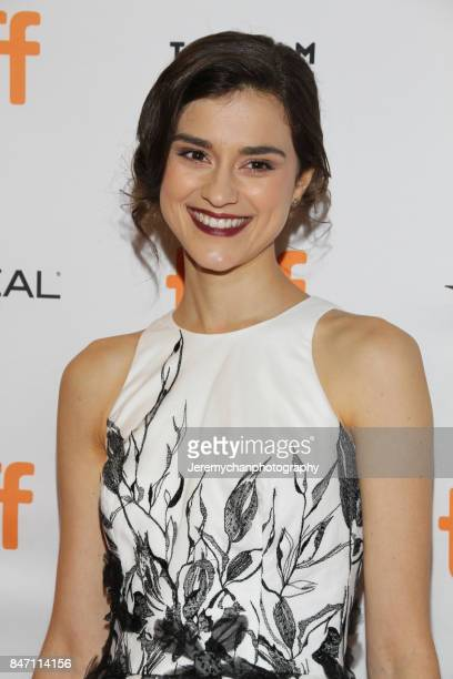 Actor Rebecca Liddiard attends the Alias Grace Premiere held at Winter Garden Theatre during the 2017 Toronto International Film Festival on...