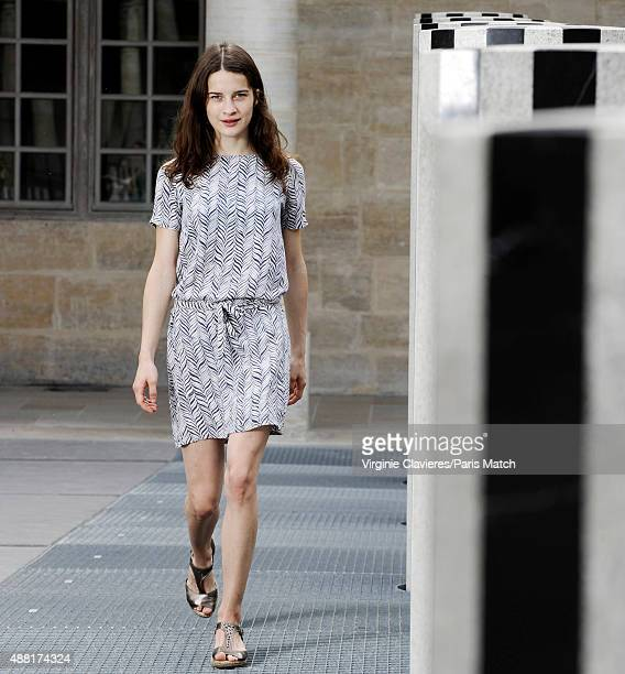 Actor Rebecca Marder is photographed for Paris Match on June 26 2015 in Paris France
