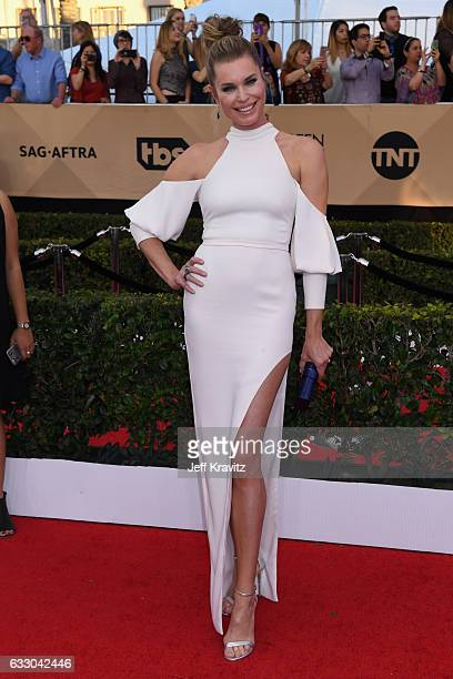 Actor Rebecca Romijn attends the 23rd Annual Screen Actors Guild Awards at The Shrine Expo Hall on January 29 2017 in Los Angeles California
