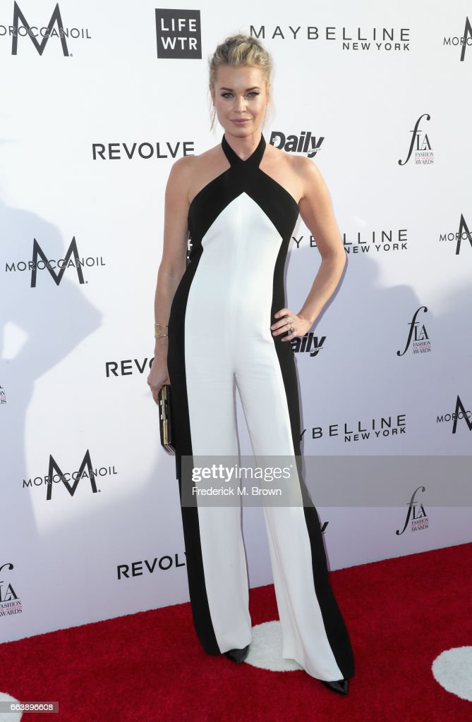 Actor Rebecca Romijn attends the Daily Front Row's 3rd Annual Fashion Los Angeles Awards at Sunset Tower Hotel on April 2, 2017 in West Hollywood, California.
