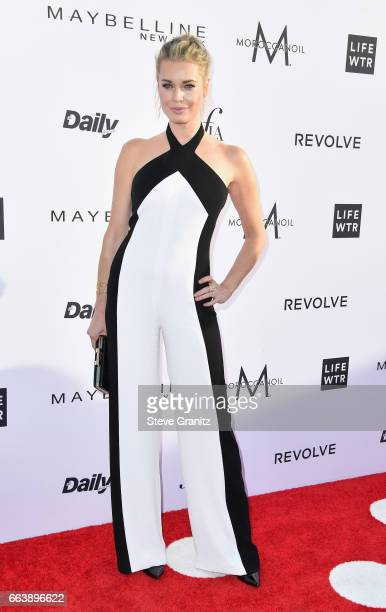 Actor Rebecca Romijn attends the Daily Front Row's 3rd Annual Fashion Los Angeles Awards at Sunset Tower Hotel on April 2 2017 in West Hollywood...